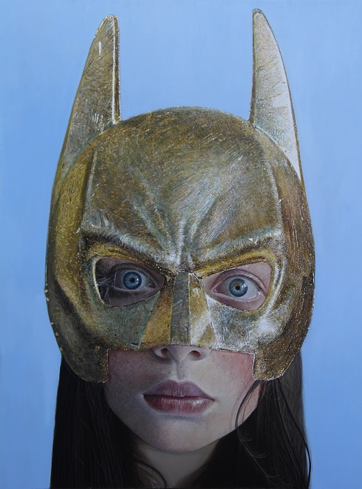 Girl with the Golden Mask